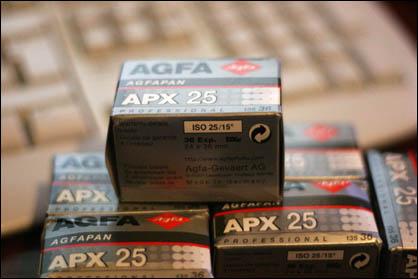 AGFA APX 25 biatch!